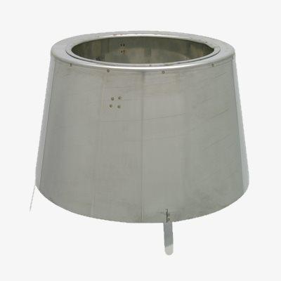 Zakonczenia-ustnik - Elementy nierdzewne kominów ceramicznych